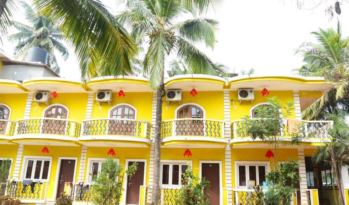 top 5 hotels and hostels in Calangute, India