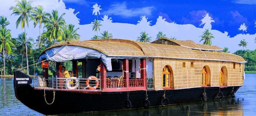 Riverland House Boat, Alleppey, India